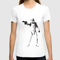 storm trooper T-shirts featuring Storm Trooper by Christine DeLong Creative Studio
