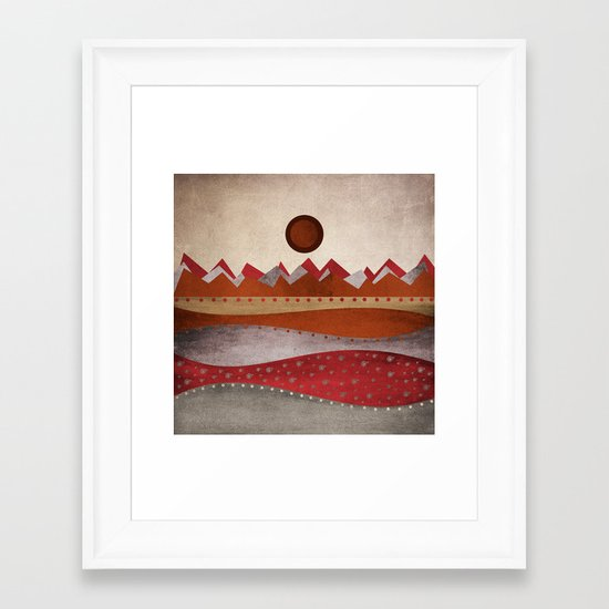 Textures/Abstract 135 Framed Art Print