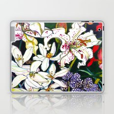 Lilies & Orchids Laptop & iPad Skin