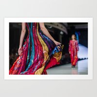 Fashion art Art Print