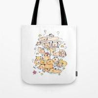 Wild family series - Capybara Tote Bag
