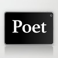 Poet inverse Laptop & iPad Skin