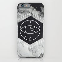 iPhone & iPod Case featuring Moon Eye by WeLoveHumans