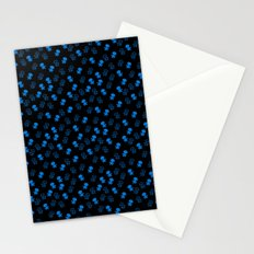 Aliens-Blue Stationery Cards