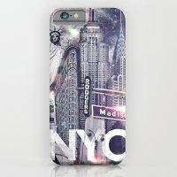New York Moon iPhone 6 Slim Case