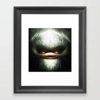 Little Evil Framed Art Print