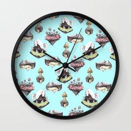 Wall Clock - dog averywhere - franciscomffonseca
