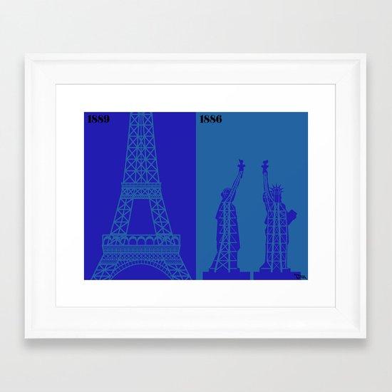 l'ingénieur Framed Art Print