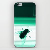 Neon Fly iPhone & iPod Skin