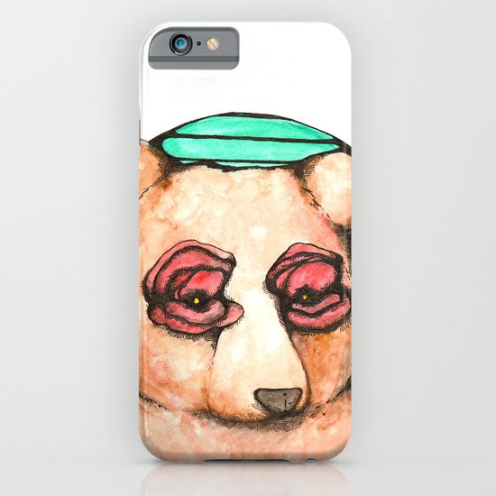 Poppies for Eyes iPhone & iPod Case