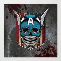 Captain-A Canvas Print