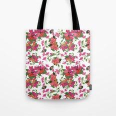 April blooms(Bougainvillea) Tote Bag