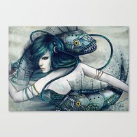 Zodiac Sign: Pisces Canvas Print