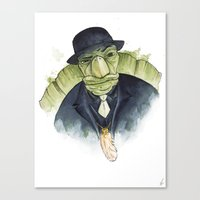 Mr. Tortoise's Luck Canvas Print
