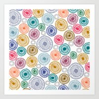 c13 pattern series 009 Art Print