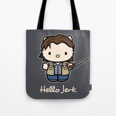 Hello Jerk Tote Bag