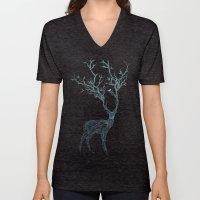 Blue Deer Unisex V-Neck