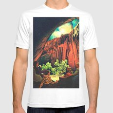 Outing Mens Fitted Tee SMALL White
