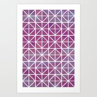 Broken Geometry 2 Art Print