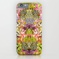 iPhone Cases featuring Succulent Garden by PatternPeople