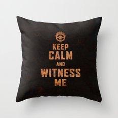 Witness Me Throw Pillow