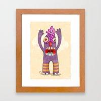 Monster-04 Framed Art Print