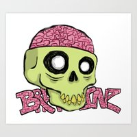 BRAINZ Art Print