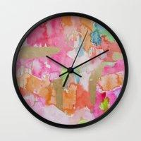 Melon Mirage Wall Clock