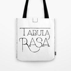 Tabula Rasa Tote Bag