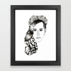 Lana Del lovely Framed Art Print
