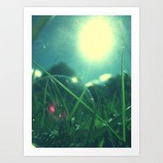A Bubble's Perspective Art Print
