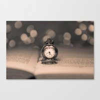 Reading Time Canvas Print