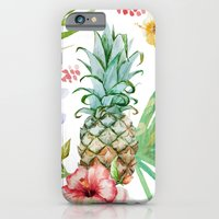 iPhone Cases featuring Tropicana yeah by Seven Roses