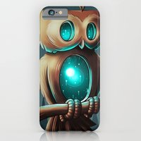 owl iPhone & iPod Cases featuring Night Owl by Chump Magic