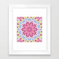 Kaleidoscope #2 Framed Art Print