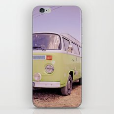 Let's go somewhere new iPhone & iPod Skin