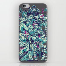 Teenage Zombie Ninja Turtles iPhone & iPod Skin