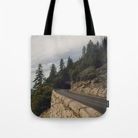 Yosemite Tunnel  Tote Bag
