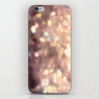 Glitters in your Heart  - JUSTART ©, digital art.    iPhone & iPod Skin