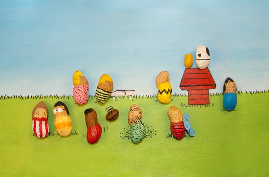 Real Peanuts Art Print