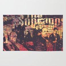 The Sopranos (in memory of James Gandolfini)1 Rug