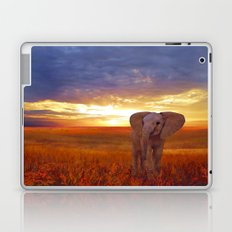ANIMALS-Elephant baby Laptop & iPad Skin