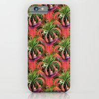 Flower Circle In Pink Gr… iPhone 6 Slim Case