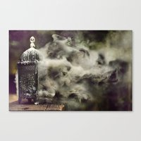 Grapevine fires Canvas Print