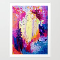 IN TIMES OF CHAOS - Inte… Art Print