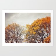 Art Print featuring A Touch Of Autumn by Lawson Images