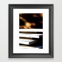 White Planes 1 Framed Art Print