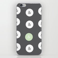 spot color ampersand iPhone & iPod Skin