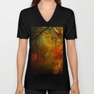 Promises Of A Fall Past Unisex V-Neck