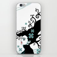 Audrey Hepburn Natural L… iPhone & iPod Skin